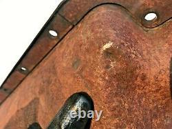1949 50 51 52 53 Mercury 255 Flathead V8 8cm 8ba Rear Sump Oil Pan Ford Dipstick