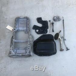 1JZ 2JZ GE Lexus SC300 Toyota Supra OEM Complete Rear Sump Oil Pan Kit Refurbish