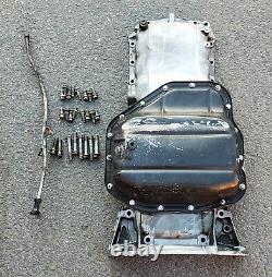 1jz 2jz/ge Lexus Sc300 Toyota Supra Complete Rear Sump Oil Pan Set Oem