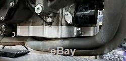 2008-2019 Hayabusa Low Profile Billet Oil Pan W Pick Up Has Oil Cooler Port