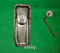 56 57 58 Ford Mercury Y Block Front Sump Oil Pan With Pick Up 272 292 312