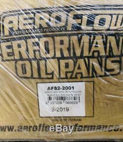 Aeroflow High Volume Sump Oil Pan Af82-2001 Ford Falcon Cleveland 302 351 V8