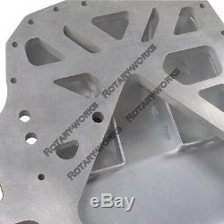 Alum Rear Sump Oil Pan for Mazda RX7 FC 13B Rotary Engine for Datsun 510 Swap