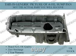 Aluminium Engine Oil Sump Pan for Audi TT 1.8 T 19982006 Brand New