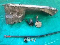 BMW E30 E34 M50 M52 S50 S52 S54 Front Sump Oil Pan Sump Dipstick Conversion KIT