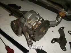 BMW E36 M3 3.2 evo S50B32 twin oil pump with sump pan dip stick tube bolts