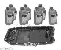 Bmw Automatic Transmission Oil Pan Sump Seal Fluid Atf Oil 7 X Liters Ga6hp19z