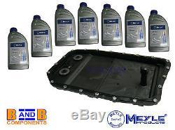 Bmw E60 E61 E90 E92 X5 Automatic Gearbox Transmission Sump Pan + Oil Meyle C981