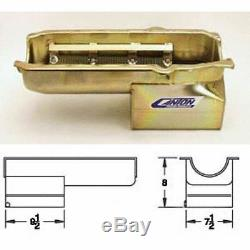 CANTON 13-080 Drag Racing Wet Sump Oil Pan For Pre-80' Small Block Chevy