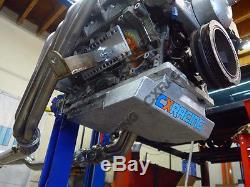 CXRacing Front Sump Aluminum Oil Pan For Nissan 350Z GM LS1/LSx Swap