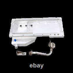 CXRacing LS1 LS Oil Pan Front Sump Motor Swap+Cooler Sandwitch For 240SX S13 S14