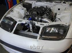CXRacing Rear Sump Aluminum Oil Pan For 89-00 Nissan 300ZX Z32 GM LS1/LSx Swap