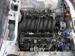 CXRacing Rear Sump GM LS1/LSx Aluminum Oil Pan For 1989-2000 Nissan 300ZX Z32