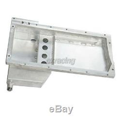 CXRacing Rear Sump Oil Pan for LS1 Engine 95-04 Toyota Tacoma Truck LS Swap