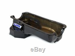 Canton 15-640BLK Oil Pan For Ford 289-302 Fox Body Mustang Rear T Sump Street
