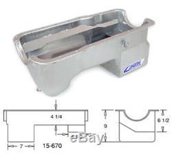 Canton 15-670 Oil Pan For Ford 351W Fox Body Mustang Deep Rear Sump Pan