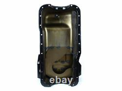Canton 15-690BLK Oil Pan For Ford 351W Fox Body Mustang Rear T Sump Street Pan