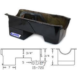 Canton 15-720BLK Oil Pan For Ford 351C Rear Sump Fox Body Conversion Street Pan
