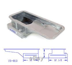 Canton 15-810 Oil Pan For Ford 332-428 FE High Capacity Front T Sump Street Pan