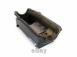 Canton 18-100T Oil Pan Small Block Chevy Full Length Sump Marine 1 Piece Seal