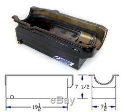 Canton 18-100T Oil Pan Small Block Chevy Full Length Sump