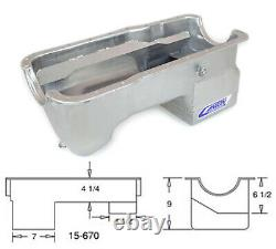 Canton 351W Mustang 7 Quart Deep Wet Rear Sump Oil Pan ONLY SBF Fox Body 15-670
