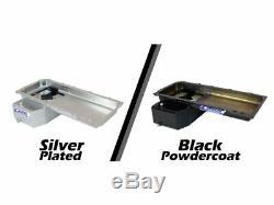 Canton Black Powdercoated LS1 / LS6 Swap 240sx Drift Racing Oil Pan 15-276BLK