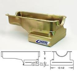 Canton Ford Mustang 289/302 Canton 7 Quart Front Sump Street T Oil Pan 15-610
