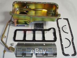 Canton Ford Mustang Fox Body Deep Rear Wet Sump 289/302 7 Qt. Oil Pan 620 6 pcs