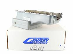 Canton US15-680S Oil Pan For Ford 351W Front Sump 12 Wide 14 GA Road Race Pan
