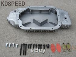 Cast Aluminum Oil Pan FOR 2003-2006 Nissan 350Z Infinite G35 VQ35DE 3.5L