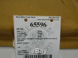 Caterpillar Cat C15 Engine Oil Pan front Sump 289-3671 2893671 FREE SHIPPING