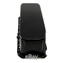 Chevy BB 454 Gen 4 10qt. 2pc. RMS Full Sump Black Competition Oil Pan