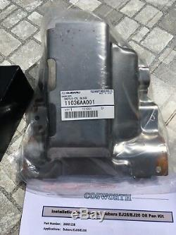 Cosworth Subaru High Capacity Sump Oil Pan EJ20 EJ25 Impreza Forester