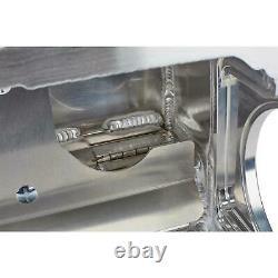 Dan Olson Racing WS350KA Aluminum Wet Sump SBC Oil Pan, Uncoated