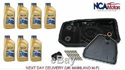 Discovery 3 Discovery 4 6HP26 Auto Gearbox Metal Sump Pan Filter and Oil Kit
