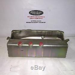 Dry Sump Oil Pan Small Block Chevy Circle Track Pro Series Steel