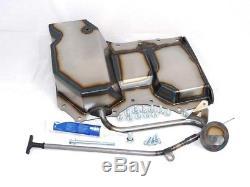 Escort Mk1 Mk2 Duratec Conversion Engine RWD Wet Sump Pan + Oil Pickup Pipe Kit