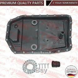 FOR BMW 320d 325d AUTOMATIC TRANSMISSION GEARBOX SUMP PAN FILTER SEAL 7L OIL