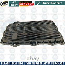FOR BMW 640d 640i 650i AUTOMATIC TRANSMISSION GEARBOX SUMP PAN FILTER 8L OIL KIT