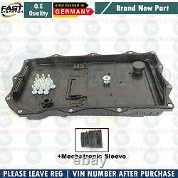 FOR BMW X5 X6 30d 40d M50d 8HP AUTOMATIC TRANSMISSION GEARBOX SUMP PAN 8L OIL