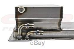 Fabricated STEEL Oil Pan Rear Sump Chevy GM LS V8 Swap LS1 LS2 LS6 LQ9 RAW