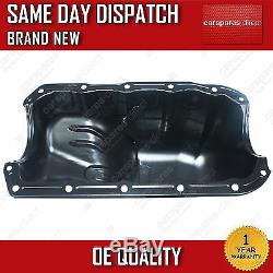 Fiat Grande Punto 1.2L 1.4L 2005On Steel Engine Oil Sump Pan With Sealant New