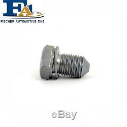 For Audi A2 A3 A4 A6 A8 TT Engine Oil Sump Plug Bolt Nut N90813201 Fits Most VAG