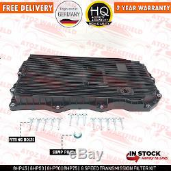 For Bmw 8hp45z 8hp50z 8hp70z Automatic Transmission Gearbox Sump Pan Filter Oil