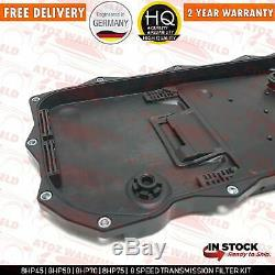 For Bmw X5 8hp Automatic Transmission Gearbox Sump Pan Filter & 8l Oil Kit