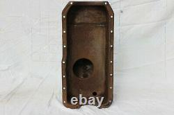 Ford Early Xflow Front bowled baffled sump pan