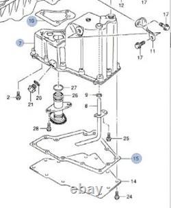 Genuine Suzuki GRAND VITARA GV 2005-15 Engine Oil Sump Pan +GASKETS 11521-67JA1