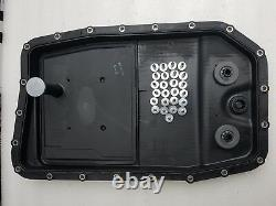 Genuine bmw 5 series zf 6 speed 6hp26 automatic gearbox oil sump pan filter