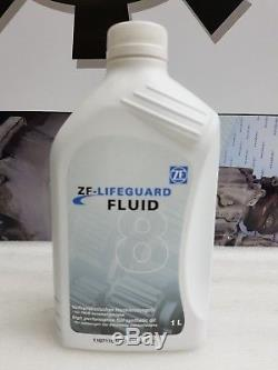 Genuine bmw 8hp70 8 speed automatic transmission gearbox sump pan filter 8L oil
